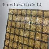Vetro di vetro di /Tempered di vetro laminato/di vetro decorativo/costruzione con stagnola dorata