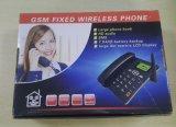 Telefono da tavolino perfetto di basso costo FM Raido GSM Fwp con 1 linguaggio della scheda di SIM multi