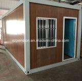 Casa móvil prefabricada/prefabricada de la alta calidad inferior del beneficio del envase