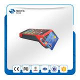 지문 ID (Z100)를 가진 Msr+IC Chip+NFC 독자 휴대용 접촉 POS 인조 인간 기계