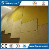 A tela por atacado de China cobriu o painel de parede acústico da fibra de vidro