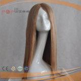 브라질 머리 가발 유형 100% 가득 차있는 레이스 실크 최고 가발 (PPG-l-0438)