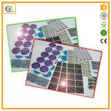Farbenreicher Drucken-Aufkleber