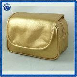 De gouden Zachte Kosmetische Zak van Pu