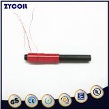 La bobina de cable de cobre esmaltado en rojo de hierro de la ferrita inductor