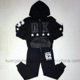 子供のスポーツのスーツの子供の服装のHoodieのスーツ