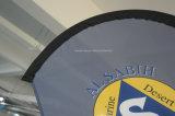 Bandierina personalizzata di volo della piuma della spiaggia del Teardrop del Palo della vetroresina (SU-FG6)