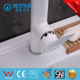 Design exclusivo a cor branca torneira da cozinha (BM-20015W)