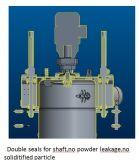 Mezclador del envase de la capa del polvo de la eficacia alta