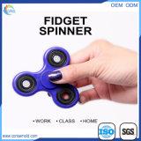 Het Plastiek van het Speelgoed van de Hulp van de Spanning van Hotest friemelt de Spinner van de Hand
