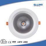 Nueva pulgada impermeable 230V de IP44 30W Downlight LED 6