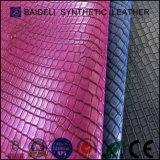 Кожа PVC картины крокодила синтетическая для мешков женщин/портмона Handbags/партии
