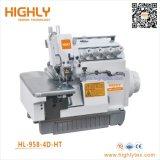 Hl-958-4D-Ht haute vitesse à entraînement direct surjeteuse informatisé
