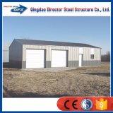 De prefab Draagbare Garages van het Staal voor Huis of Commercieel Gebruik