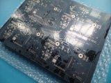 PWB de múltiples capas de la máscara negra de la soldadura 6 capas con oro de la inmersión