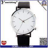 Yxl-458 Horloge het Van uitstekende kwaliteit Mens van de Hand van de Horloges van het Roestvrij staal Lether van het Polshorloge van de Luxe van de promotie Hete van de Verkoop Nieuwe van het Ontwerp Mensen van het Horloge