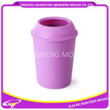 Plastic Round Dustbin Without Lid Injection Mold