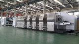 Zxkm2000 de impressão automática de alta velocidade com ranhura com linha de produção de corte de papelão