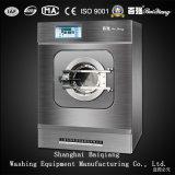 ISO 승인되는 50kg 완전히 자동적인 산업 세탁기 갈퀴 세탁물 기계
