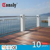 Конструированная загородка Railing нержавеющей стали для бассеина/моста/лестницы