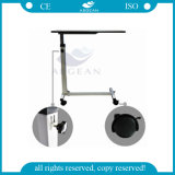 Cheap AG-Obt001b mesas de madera regulable en altura para el equipo cama de hospital