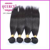 Quercy Hugh Qualitätsneue Produkt-peruanische Haar-natürliche gerade Jungfrau-gerades Haar