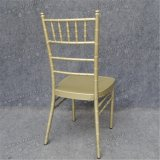 シャンペン現代結婚のChiavariの椅子をスタックするYc-A403
