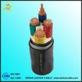Revestimento de PVC Isolado PVC que protege o cabo de controle de cobre do condutor dos Multi-Núcleos trançados