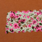 Prix de gros Multicolor Guipure Textile Tulle Custom Printed Lace