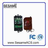 Télécommandes en bois Commande à distance sans fil Commutateur à 1 porte (SWBR)