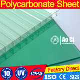 100% Material Bayer Virgin 4/6/8/10/12 mm Folha oco de policarbonato