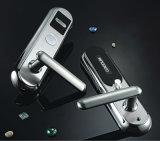 Segurança eléctrica em casa um leitor de cartão de chave da fechadura da porta do hotel inteligente