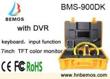 câmera da inspeção da tubulação do monitor de cor de 7inch DVR TFT