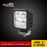Spot 4 pulgadas de alta potencia 10W CREE luz LED de trabajo