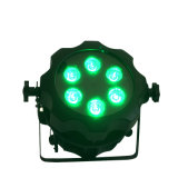 IP65 impermeabilizzano l'illuminazione a pile della fase dell'indicatore luminoso DMX di PARITÀ della radio LED