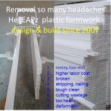 Im Garten arbeitenWalkpath Kosteneinsparungs-mehrfachverwendbare Biegen-Steife Plastikverschalung