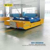 Transfert de cargaison lourde voiture avec table de relevage hydraulique