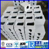 中国語の容器の角の座席