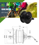 Motor eléctrico engranado neumático gordo 48V 500W de la bici Jb-104c2