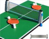 Jeu de raquette de tennis de table avec Net