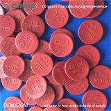 Protezioni di estremità superiori di colore rosso EPDM di vendita calda