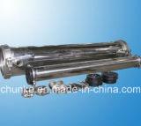 Acero inoxidable Chunke membrana RO vivienda de planta de tratamiento de agua