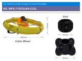 Wopson 기록병과 20m 섬유 케이블을%s 가진 영상 파이프라인 검사 사진기
