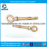 China Supplier Eye Bolt Wedge Anchor Carbono com cor em zinco