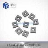 Piezas insertas de torneado cuadradas del carburo de tungsteno para la máquina del CNC