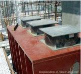 Rolamentos de borracha de umedecimento elevados na construção de ponte