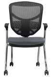바퀴 병원 방문자 의자 (LDG-840C)를 가진 높은 뒤 회의실 의자