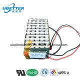 Lithium-Ionenbatterie Qualität18650 der Li-Ionenbatterie-36V 2.2ah für Roller