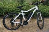 7 Engranajes 36V 350W / 500W / 1000W Suspensión Completa Doble Disc Brakes Electric Mountain Bike