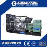 Открытый комплект генератора рамки 1200kw 1500kVA промышленный Perkins тепловозный